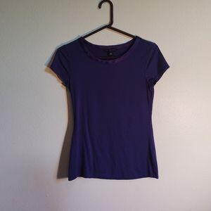 🔥 4/$20 Dark blue T-shirt with satin collar